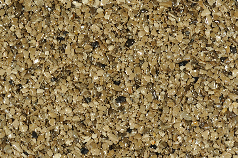 TOPSTONE Kamenný koberec Royal Brown frakce 2-4mm tloušťka 0,7cm stěna