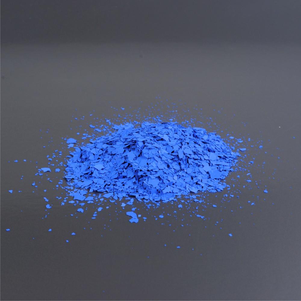 Barevné chipsy - modrá 6/02 3mm (balení 1kg)