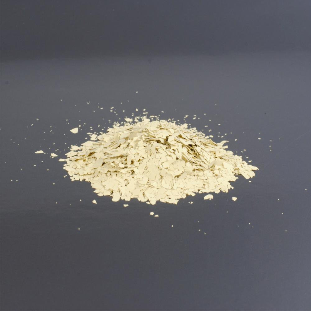 Barevné chipsy - žlutá 1/80 3mm (balení 1kg)