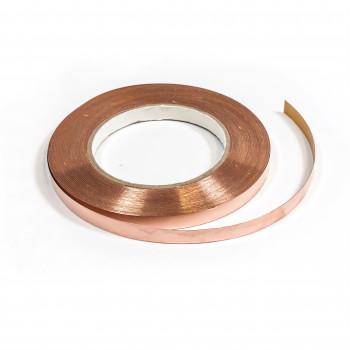 CU páska samolepící 0,08 x 10 mm, 50 m