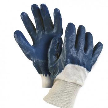 Rukavice BA+NITRIL modré, vel. 9