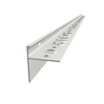 Terasový profil CX elox stříbro 10 mm / 2,5m STONE