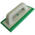 Hladítko spárovací na epoxid, zelené, měkké, 250x100