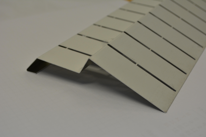 TOPSTONE Balkónový profil - 2m hliník - bílá barva