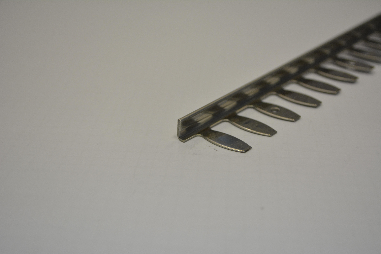 TOPSTONE Lišta 12mm - 2,5m L nerez tvarovací