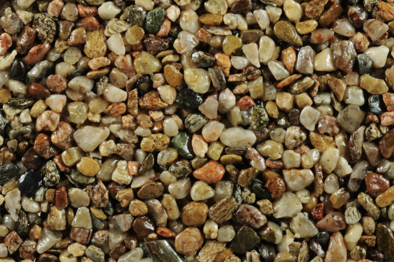 TOPSTONE Kamenný koberec Korfu frakce 4-8mm tloušťka 1cm stěna