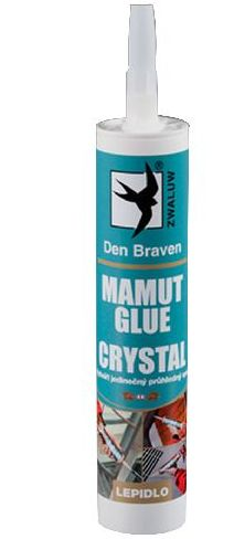 TOPSTONE Lepidlo Mamut glue Crystal transparent 290ml