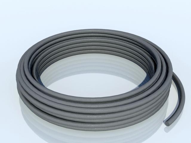 TOPSTONE Těsnící šňůra 6 mm šedá