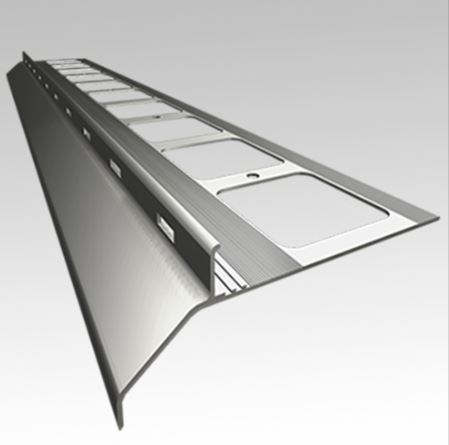 TOPSTONE Balkónový profil RENO 20 7024 tmavě šedý - 2m